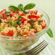Couscous salad — Stock Photo