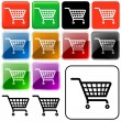 Shopping Basket Sign — Foto de Stock