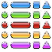 Cam düğmeleri — Stok fotoğraf