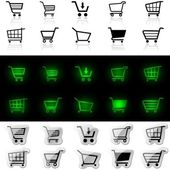Shopping Cart Sign — Стоковое фото
