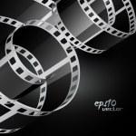 Realistic vector reel film — Stock Vector #10794841