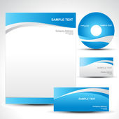 Vector template — Stock Vector