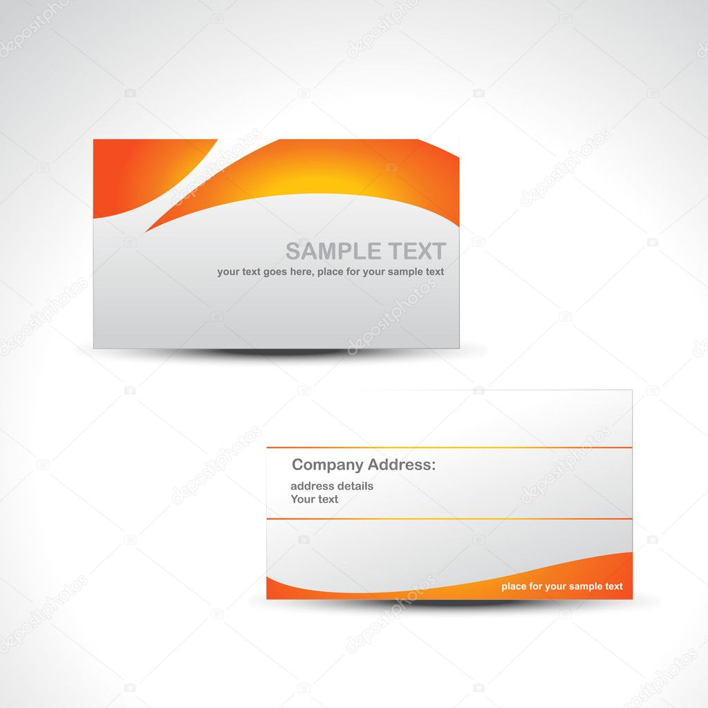 Vector business card stock vector c pinnacleanimate for Business card background vector