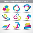 Stok Vektör: Abstract shape vector