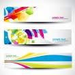 Abstract header set — Stock Vector #10927602