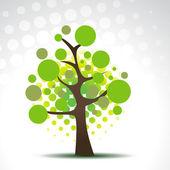 Vector abstract tree — Stock Vector