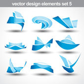 Abstract shape vector — Stock Vector