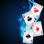 Cartão de jogo — Vetorial Stock