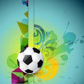 Abstract football design — Stock Vector