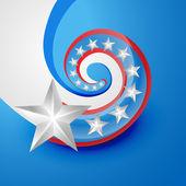 Creative american flag — Stock Vector