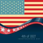 July 4th america — Stock Vector