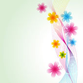 Flor de vetor — Vetor de Stock