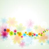 Beautiful vector flower — Stock Vector