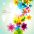 Vector flower — Stock Vector #11585027