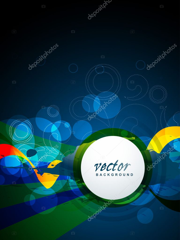 Abstract stylish vector shape background — Stock Vector #11585145