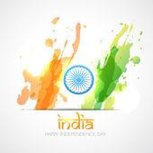 Indická vlajka vektorový — Stock vektor