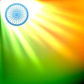 Schöne indische flagge — Stockvektor