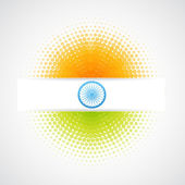 Vector bandera india — Vector de stock