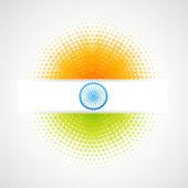Vettore di bandiera indiana — Vettoriale Stock
