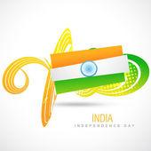 флаг индии — Cтоковый вектор