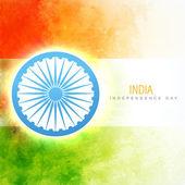 Indická vlajka vektor — Stock vektor