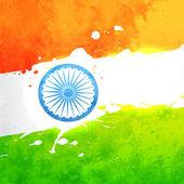 Vector india flag — Stock Vector