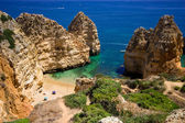 Algarve rock - coast in Portugal — Stock Photo