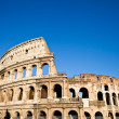 Colosseum with blue sky — Stock Photo #11645883