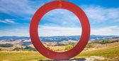 Tuscany panoramic view — Stock Photo