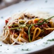 Italian Pasta - Fettuccine — Stock Photo