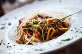 Italian Pasta - Fettuccine — Stock Photo