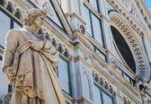 Dante statue — Stock Photo