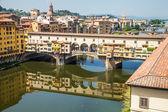 Florence, Ponte Vecchio — Stock Photo