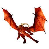 Kırmızı şeytan — Stok fotoğraf