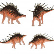Kentrosaurus Pack — Stock Photo