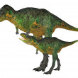 Adult and Young Aucasaurus — Stock Photo #10964804
