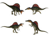 Spinosaurus Pack — Stock Photo