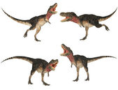 Tarbosaurus Pack — Stock Photo