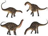 Dicraeosaurus Pack — Stock Photo