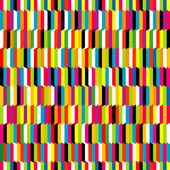 Striped colored background, seamless pattern — Stock Photo