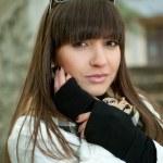 Beautiful brunette portrait — Stock Photo #11754599