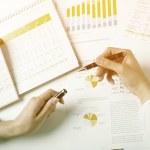 análise de dados corporativos — Foto Stock