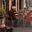 Coffee house in Venice — Stock Photo