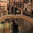 Gondola in Venice near pier — Stock Photo #11952195