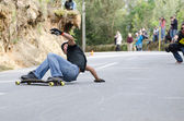 Simao Soares in action — Stock Photo