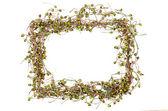 Christmas frame decoration — Stock Photo