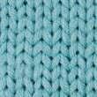 Blue knitted wool — Stock Photo #11115810