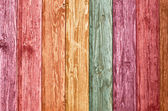 Color wooden wall — Stock Photo