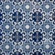 Portuguese glazed tiles — Photo