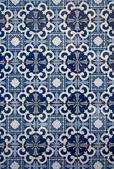 Portuguese glazed tiles — Stock Photo